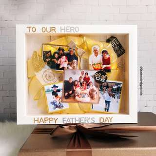 Personalised 3D Photo Frame (Together We Make A Family)
