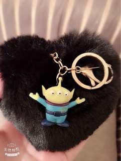 玩具總動員三眼怪吊飾鑰匙圈