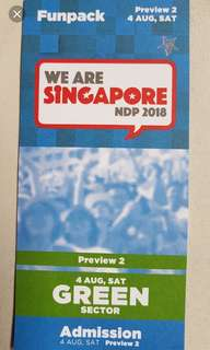 🚚 WTB NDP preview 2 Tickets