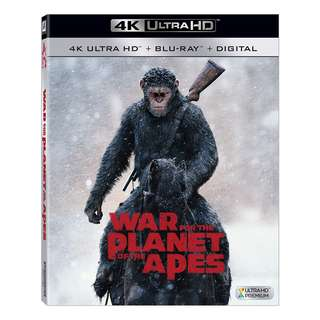 🆕 War for the Planet of the Apes 4K UHD + Blu Ray