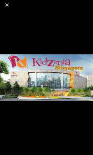 Kidzania kids (4-17 years old) physical ticket valid till 30 Sep 2018