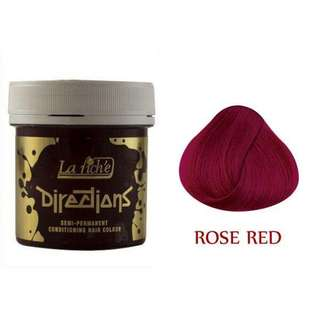 La Riche Directions Hair Dye Rose Red Semi Permanent