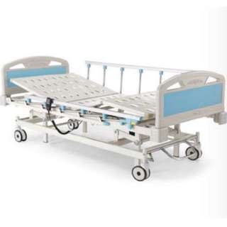 KCare Electric Three Function Hospital Bed with Air Mattress