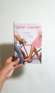 Along For The Ride by Sarah Dessen BNIP