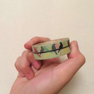 Bird Pattern Washi Tape