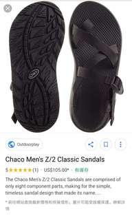 男裝chaco經典涼鞋
