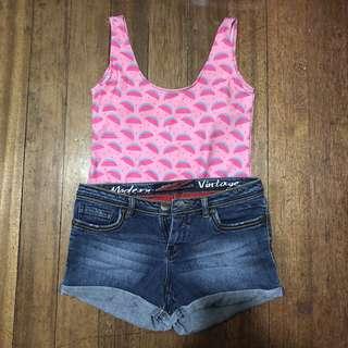 BNY Denim Shorts