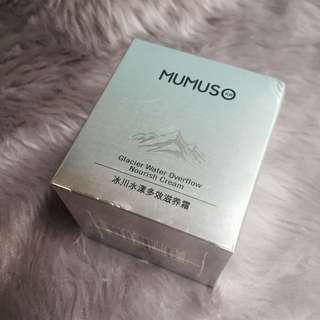 Mumuso glacier water nourish cream