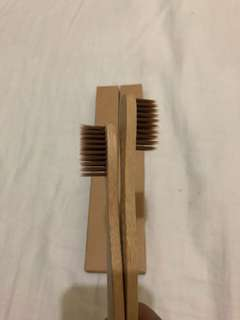 Bamboo Toothbrush (Brown)
