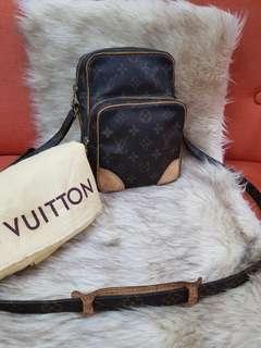 Authentic Louis Vuitton Monogram Amazon Sling/Crossbody Bag
