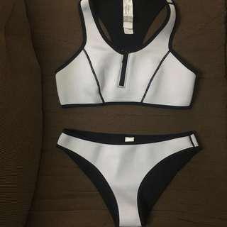 Neoprene sporty bikini swimwear (large)