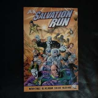 DC Comics JLA - Salvation Run 2008 TPB by Bill Willingham, Matthew Sturges & Sean Chen!