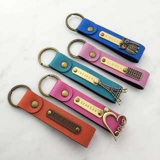 Personalised keychain customised keychain name keychain personalised gift customised gift
