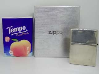 Zippo/Lighter/Silver/打火機/火機/銀色