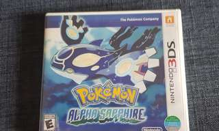 Pokemon Alpha Sapphire For 3DS and 2DS