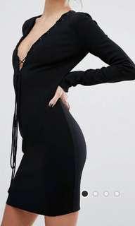 Bec & Bridge dress black small