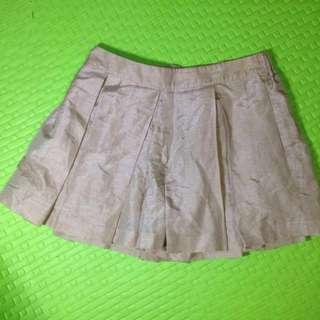 Rose pink tennis skirt