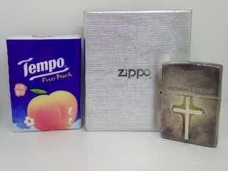 Zippo/Lighter/打火機/火機/十字架