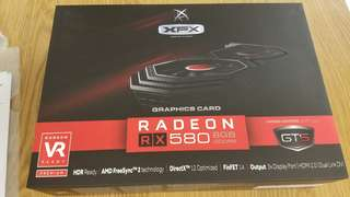XFX RX580 8G video card x6 with samsung ram