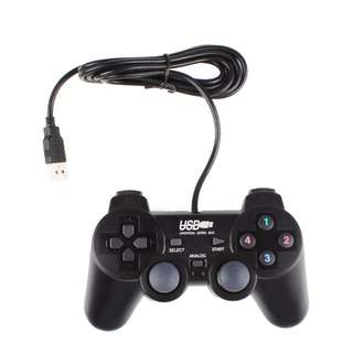 1323. USB 2.0 Wired PC Game Game Controller (2Sets)