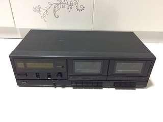 JVC TD-W106 Stereo Double Cassette Deck