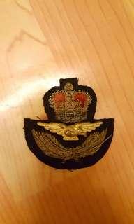 駐港皇家空軍長官用帽章
