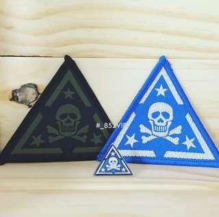 GD 權志龍 官方 白骨部隊 襟章 徽章 胸針 包郵 BIGBANG