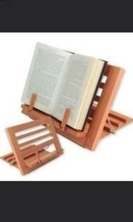 (INSTOCK) Brand New Good Quality Wooden Book Reading/ Laptop Stand