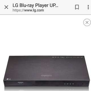 LG UP970 ULTRA HD 4K BLU RAY PLAYER