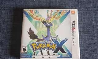 Original Pokémon X Game for Nintendo 3DS and 2DS.
