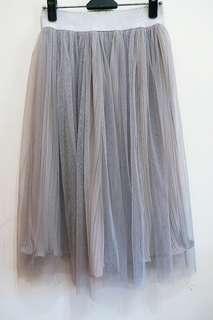 甜美氣質三層紗裙