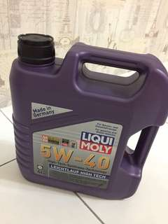 Liqui Moly Fully Synthetic Engine Oil 5w-40