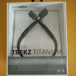 Aftershokz Trekz Titanium - Wireless Bone Conduction Headphones