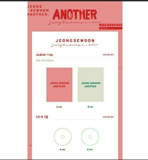 JEONG SEWOON- ANOTHER
