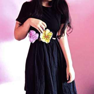 🚚 Animated Flower Dress
