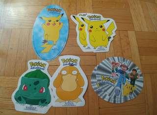 1999 Pokemon Stickers