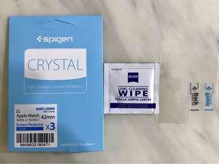 Spigen Crystal Screen Protector for Apple Watch 42mm