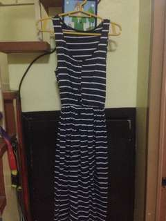 Navy Blue Nautical Dress