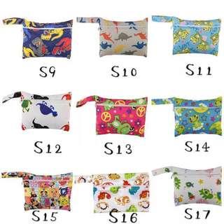 Wet Bag/Waterproof Bag/Sanitary Bag/Tooth Cup Bag/Ballet Shoes Bag/Mini Bag/ Washable Bag