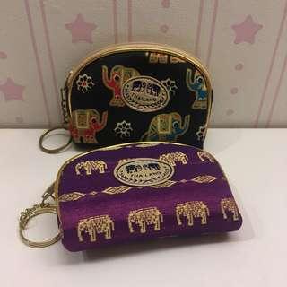🚚 泰國帶回大象零錢包