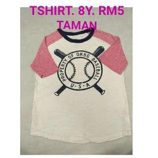8Y tshirt
