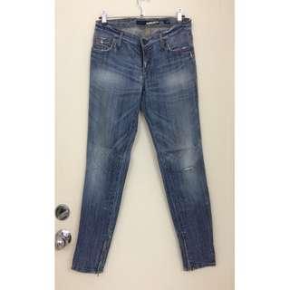 Miss Sixty   Ladies Zipper Split Hem Jeans  女裝 拉鍊腳 牛仔褲  @意大利製造Made in Italy