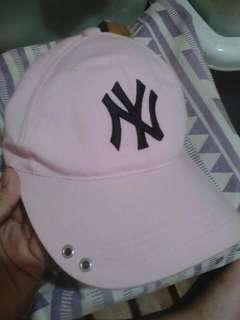 NY Pastel Pink Cap