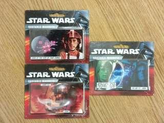 STAR WARS Quotable Magnet set of 3 星球大戰磁石貼3塊