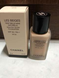Chabel Les Beiges Foundation N20