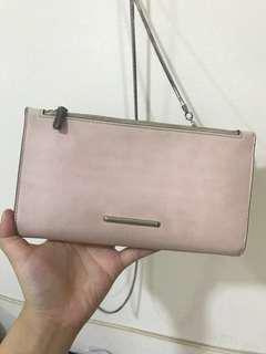 Charles & keith pink bag (wallet)