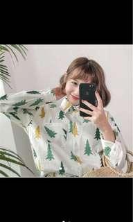 🚚 森林系襯衫