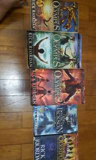 Heroes Of Olympus 5 books full series by Rick Riordan