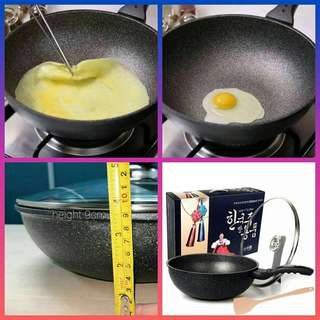 KOREAN KITCHEN NON STICK FRYING PAN
