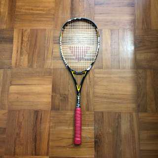 technifibre suprem fire squash racket